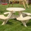 Table pique-nique ronde 45191